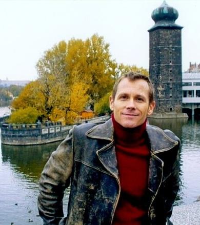 Bob Bergeron in Europe in 2003.